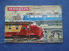 TRENI ELETTRICI MARKLIN-CATALOGO ITALIANO 1965/66