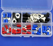 9 Types Ring Crimp Wire Terminal Assortment Kit, Connector, Vinyl-Insulated.