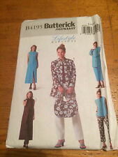 Butterick fast & easy lifestyle papier sewing pattern. new & uncut 4195 taille 8-12