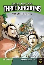 Three Kingdoms Volume 08: The Fortunate Sons-ExLibrary
