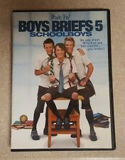 Boys Briefs 5: Schoolboys DVD RARE OOP! Gay Collection of Short Films. Free S&H!
