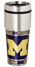 Michigan Wolverines Stainless Steel 16Oz Travel Tumbler [NEW] Coffee Cup Mug