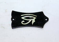 Truss Rod Cover with Eye Of Horus Inlay 01 will fit Gibson