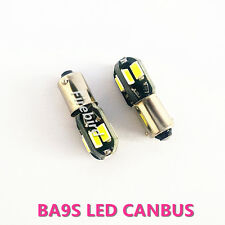 2 x CANBUS BA9S/T4W 4W white warm white red blue CE led clearance signal light