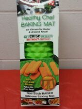 Healthy Chef Baking Mat - Pyramid Raised Silicone Baking Sheet-Green