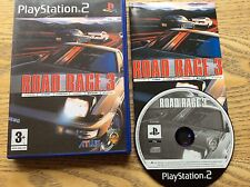 Road Rage 3 Ps2 Game! Complete! Look At My Other Games!