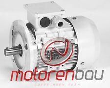 Energiesparmotor IE2, 1,1 kW, 3000 U/min, B5, 80B, Elektromotor, Drehstrommotor