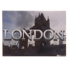 LONDON METAL FRIDGE MAGNET Tower Bridge, Ted Smith Design