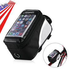 Roswheel Cycling Bicycle Bike Frame Front Pannier Top Tube Bag Pouch Holder New