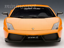AUTOart 74656 LAMBORGHINI GALLARDO LP570-4 SUPERLEGGERA 1/18 METALLIC ORANGE