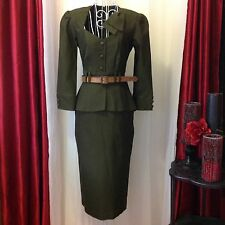 STOP STARING 1940's style Military Cadet dress NWOT Sz SMALL