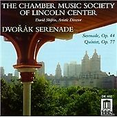 Serenade/quintet (Chamber Music Society of Lincoln Center) CD NEW