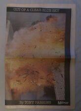 The Mirror paper on Twin Towers 20/9/2001. 24 page supplement of pictures.
