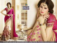 Indian Bollywood Designer Ethnic Traditional Wedding Party Wear Saree Sari SN-27