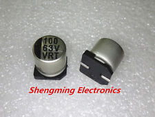 20pcs 100uF 63V SMD chip Aluminum Electrolytic Capacitor 10x10mm