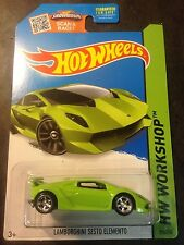 Hot Wheels CUSTOM Super Lamborghini Sesto Elemento with Real Riders