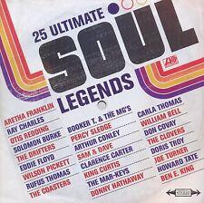 25 Ultimate Soul Legends CD NEW SEALED Aretha Franklin/Otis Redding/Percy Sledge