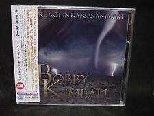 BOBBY KIMBALL We're Not In Kansas Anymore + 1 JAPAN CD Toto SS Fools Dream Theat