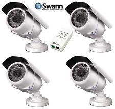 4 x Swann SHD-860 HD CCTV Security Cameras 720p SDI BNC 850TVL Night Vision OSD