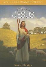 JESUS [9780310745167] - NANCY I. SANDERS (PAPERBACK) NEW