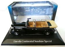 FORD LINCOLN CONTINENTAL SUNSHINE 1:43 YALTA ROOSEVELT NOREV DIECAST MODEL CAR