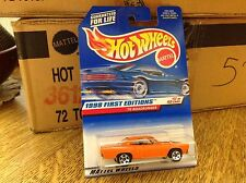 Hot Wheels Hotwheels 1998 First Edition 70 Roadrunner  17/40