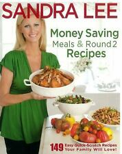 Money Saving Meals and Round 2 Recipes - Sandra Lee (Paperback ZZ)
