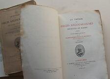 Le tresor des pieces angoumoisines inedites ou rares publie sous les auspices et