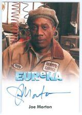 """JOE MORTON """"HENRY DEACON AUTOGRAPH CARD"""" EUREKA SEASON 1 & 2"""