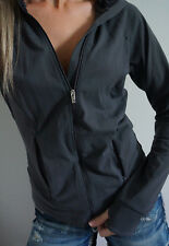 Victoria's Secret VSX Zip Up Jacket Yoga Athletic Workout Gray Small S