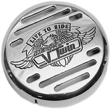 Show Chrome V-Twin Horn Cover- Yamaha V-Star 650 Vstar Classic Custom 1-228