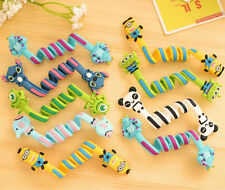 1pc Cartoon Earphone/Headphone Cord Wire Wrap Winder Holder Cable Ties Organizer