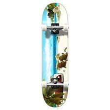 """NEW cool BLACK SKULL HAT Graphic Complete Skateboard 7.75"""" Cruiser/ skateboards"""
