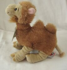 GANZ Webkinz Camel HM341 w/ Code The Caring Valley Tag Golden Brown Tan 2 Humped