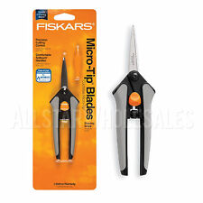 Fiskars Soft Touch Micro Tip Pruning Snip For Precision Trimming Shaping Plants