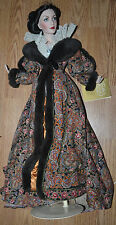 Franklin Heirloom Doll Gone with the Wind Scarlett Paisley Robe Dressing Gown