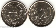 20 cts cent centimes euros belgique / belgium 2008 qualité UNC , voir scan !!!