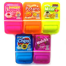 Korea Parody Big Clean Up Roller Eraser Fresh & Funny 5pcs Set