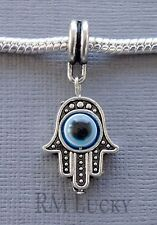 HAMSA Hand Palm Charm Bead Pendant. Fit for European charm Bracelet C117