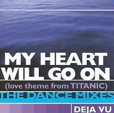 My Heart Will Go On (Love Theme from Titanic) [Single] by D'j… Vu (CD, Feb-1998,