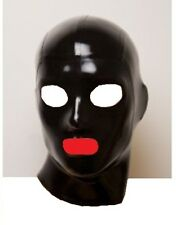 Bondage Fetish Gummi Latex Mask, Hood, Fancy Dress Size Medium LM047