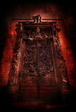 Framed Print - Gates of Hell for the Doomed Souls (Picture Poster Gothic Horror)