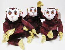 Ty Beanie Baby Monkey Zodiac Series Bling PRISTINE Brand New MINT w/Mint Tags