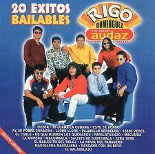 RIGO DOMINGUEZ y su Grupo AUDAZ  20 exitos bailables MEXICAN CD IM Discos 2000 !
