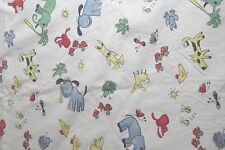 Vintage Pottery Barn Kids Shower Curtain