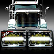 2x Projector LED Headlights Hi/Low Bulbs for International 4700 4900 8100