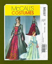 NEW! McCalls Pattern 6097~Victorian/Elizabethan Ball Gown/Cosplay (Sizes 6-12)