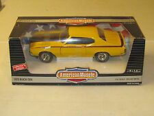 ERTL American Muscle Saturn Yellow 1970 BUICK GSX 1:18 Scale Diecast NRFB