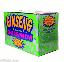 Ginseng Energy Now 3 pills per pack 24 packs In sealed box
