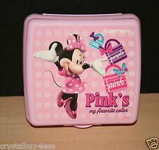 Tupperware Disney Minnie Mouse Sandwich Keeper  New